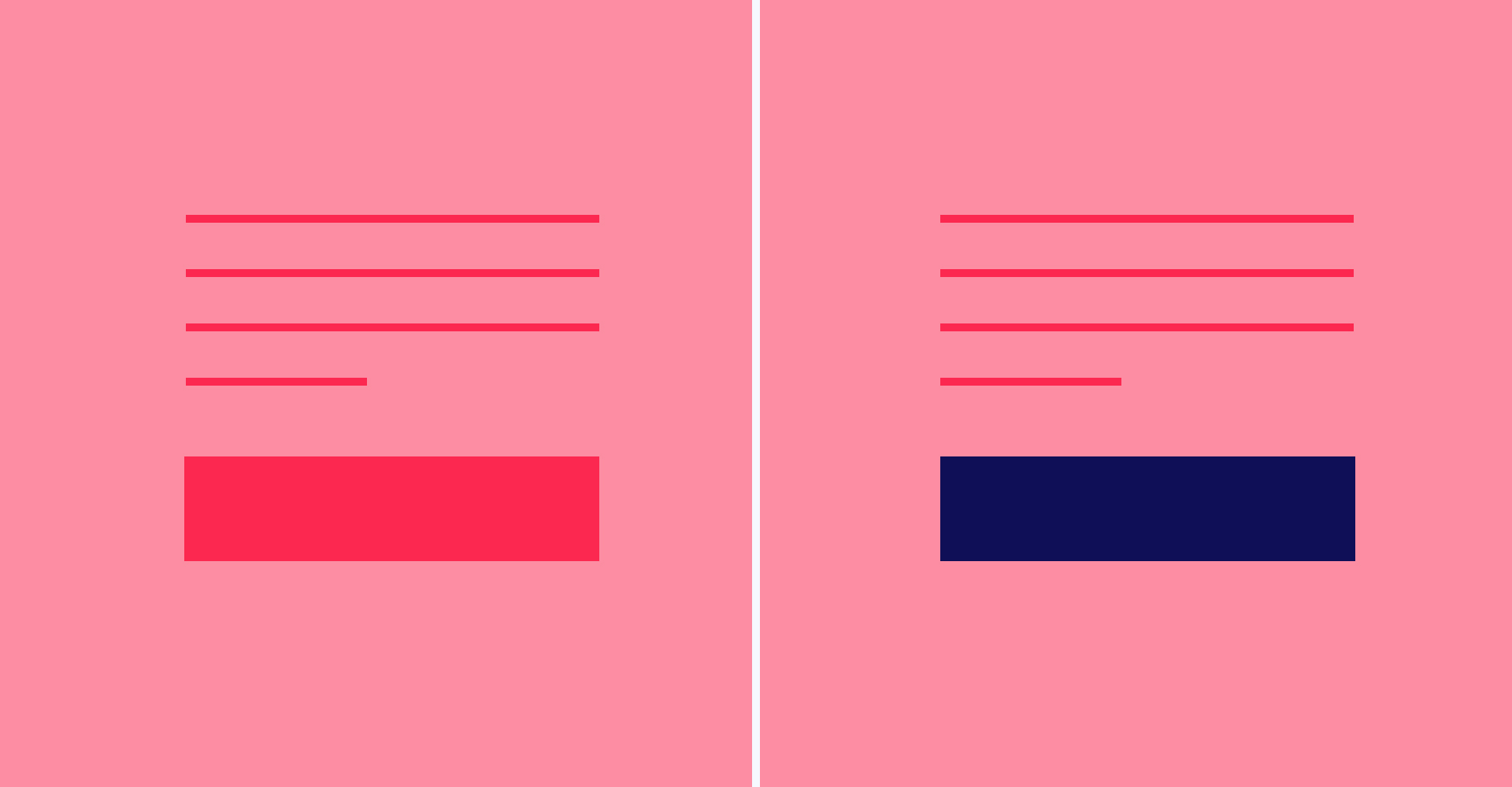 Color contrast for all your CTA needs