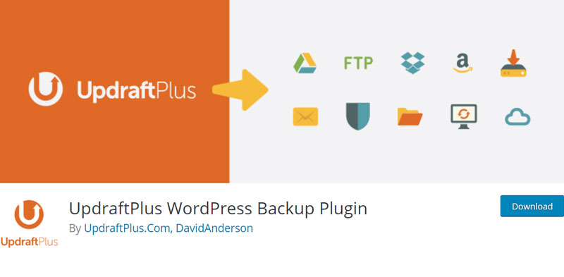 UpdraftPlus automates your site's backups